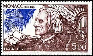 liszt-stamp-monaco-1986