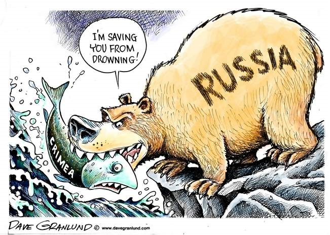 Crimea-caricature