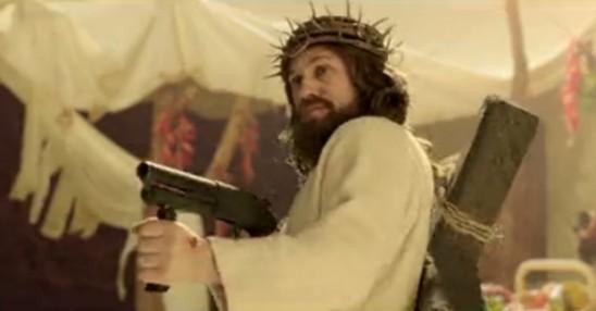 jezus z karabinem